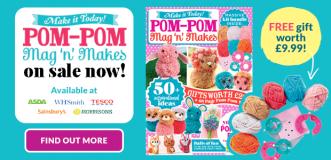 MIT Pom-Pom Mag 'n' Makes