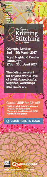 Knitting & Stitching Show February