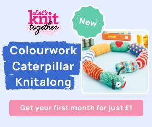 Caterpillar Knitalong Billboard Unpaid