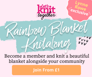 Rainbow Blanket Knitalong Billboard Unpaid