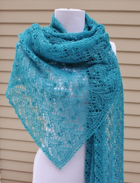 Our Top 9 FREE Lace Shawl Knitting Patterns | Blog | Let's ...