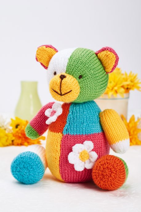 Multi-coloured Bear