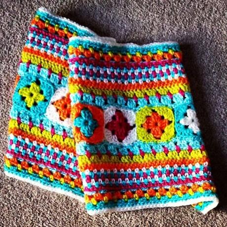 Sampler Blanket from LGC Knitting & Crochet issue 71