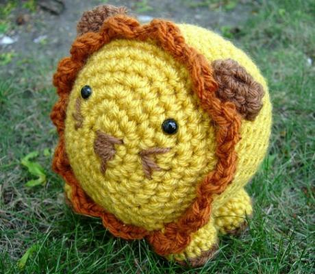 vanna's choice crochet lion amigrumi pattern