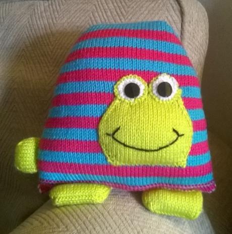 Jimbob Tortoise from LGC Knitting & Crochet issue 71