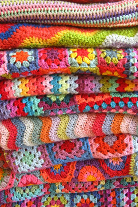 crochet blanket free pattern attic24
