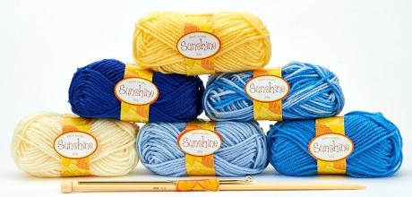 Issue 72's Sunshine yarn kit