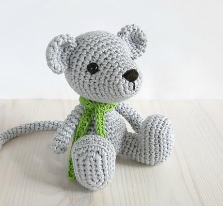 mouse amigurumi crochet