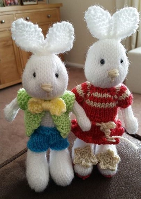 Bramble bunny from LGC Knitting & Crochet issue 57