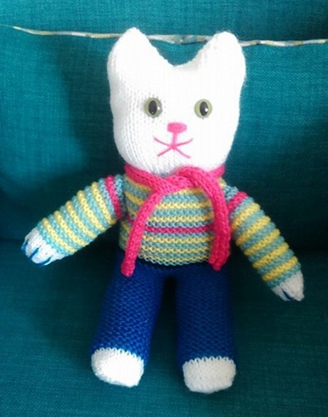 Vintage toy from LGC Knitting & Crochet issue 70