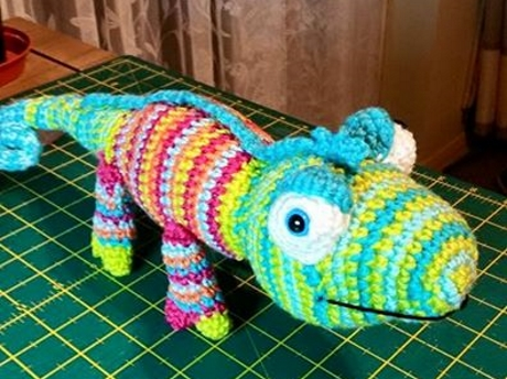 Karma chameleon from LGC Knitting & Crochet issue 71