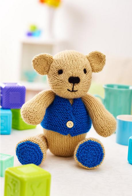 Charlie bear from LGC Knitting & Crochet issue 72