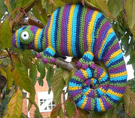 chameleon crochet amigurumi pattern