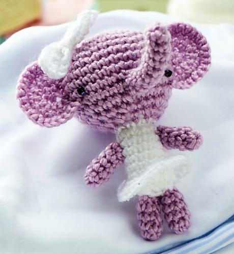 irene strange elephant crochet amigurumi