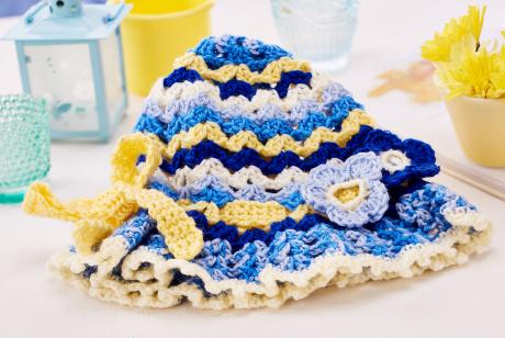 Hippy hat from LGC Knitting & Crochet issue 72