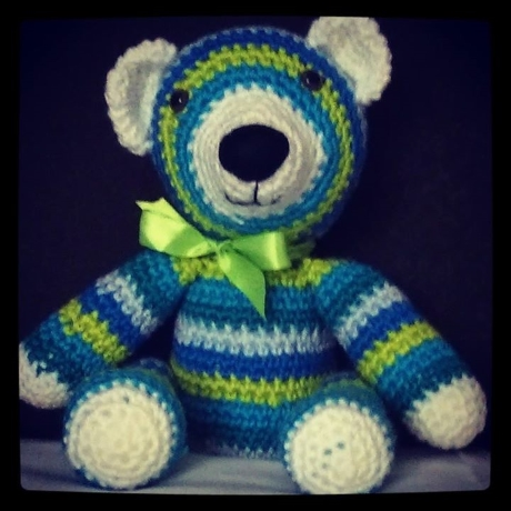 Walter bear from LGC Knitting & Crochet issue 66