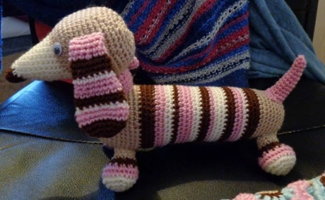 Molly Dachshund from LGC Knitting & Crochet issue 69