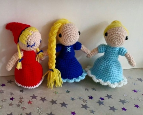 Fairytale trio from LGC Knitting & Crochet issue 70