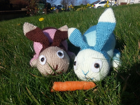 Easter bunnies from LGC Knitting & Crochet issue 69