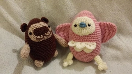 Cuddly Characters from LGC Knitting & Crochet issue 69