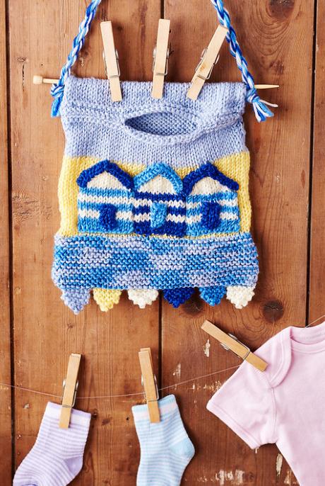 Peg bag from LGC Knitting & Crochet issue 72