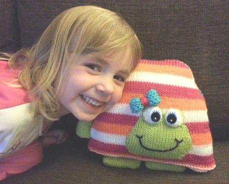 Jimbob the tortoise from LGC Knitting & Crochet issue 71