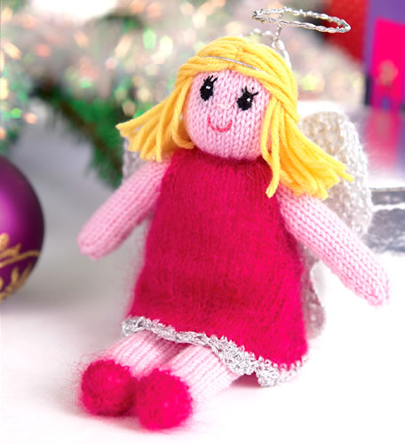 Fae Christmas Angel | Free Knitting Patterns | Let's Knit ...