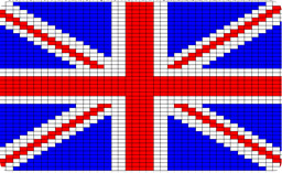 Union Jack Flag Knitting Chart