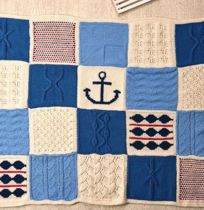 Nicely Nautical Knitalong Blanket Part Six   Knitting ...