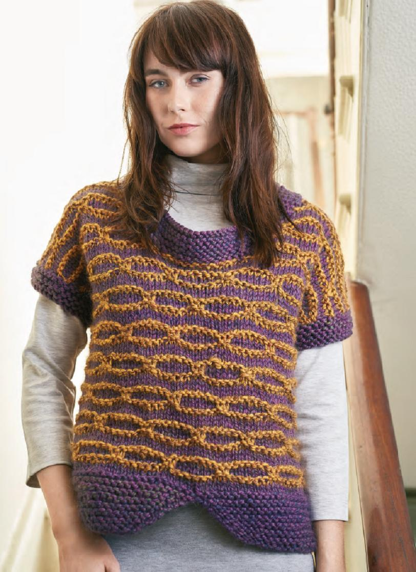 Chunky jumper | Free Knitting Patterns | Let's Knit Magazine