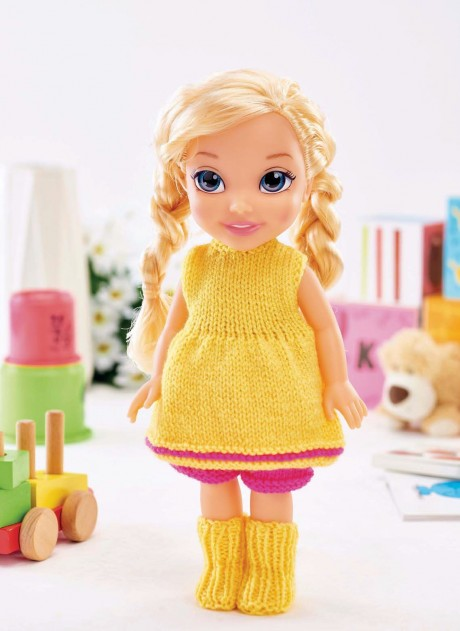 free dolls knitting patterns to download