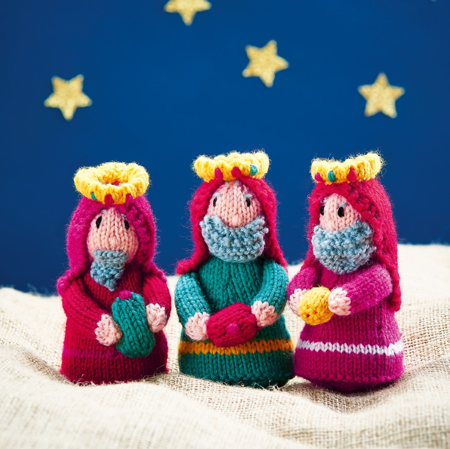 Three Kings | Knitting Patterns | Let's Knit Magazine