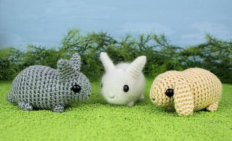 planet june baby bunny amigurumi crochet pattern
