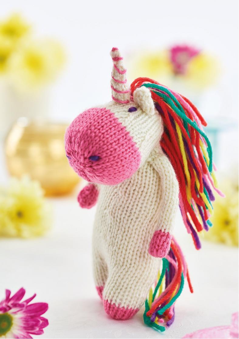 Unicorn Toy | Knitting Patterns | Let's Knit Magazine