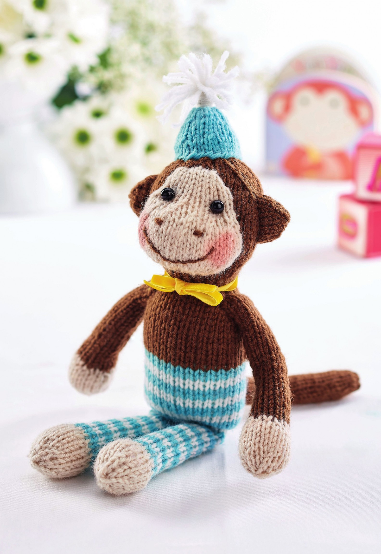 Chester the Monkey | Free Knitting Patterns | Let's Knit ...