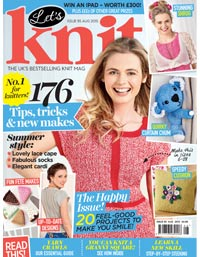 Check out the latest Lets Knit issue
