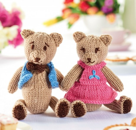 Teddy Bear's Picnic | Knitting Patterns | Let's Knit Magazine