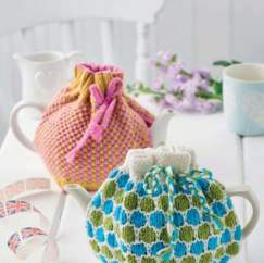 Two Teacosy Patterns! Knitting Pattern