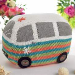 Campervan Doorstop Knitting Pattern