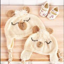 Alpaca Hats Knitting Pattern