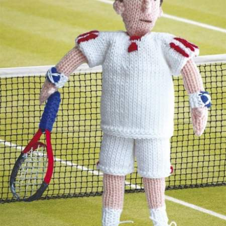 Knit Your Own Andy Murray Knitting Pattern