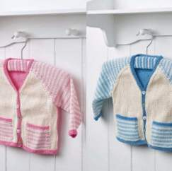 Essential Baby Cardigan Knitting Pattern