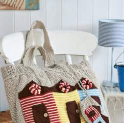Beach Bag & Sunglasses Case Knitting Pattern