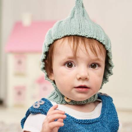 Beginners Baby Pixie Hat Knitting Pattern