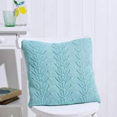 Beginner's Lace Cushion Knitting Pattern