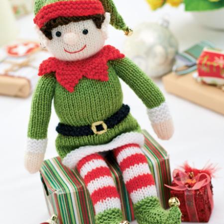 Bernard the Elf | Knitting Patterns | Let's Knit Magazine