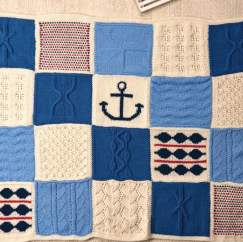 Nicely Nautical Knitalong Blanket Part Six