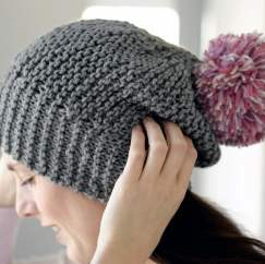 Winter Bobble Hat Knitting Pattern