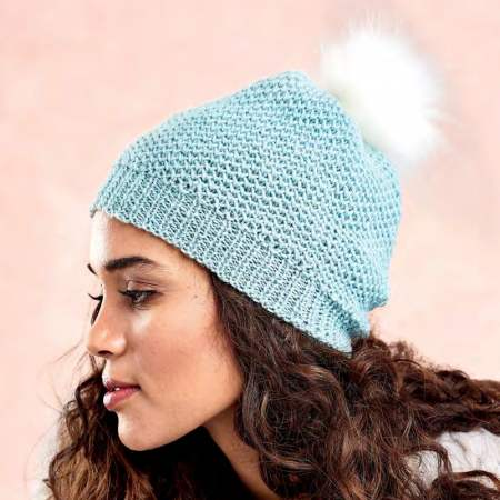 Learn To Knit A Brioche Stitch Hat Knitting Pattern