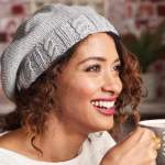 Cabled Beret Knitting Pattern